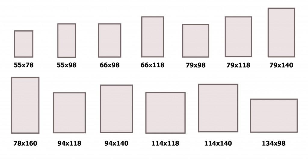 Размеры мансардные окна Fakro
