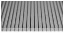 Сотовый поликарбонат серый