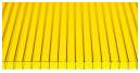 Сотовый поликарбонат жёлтый